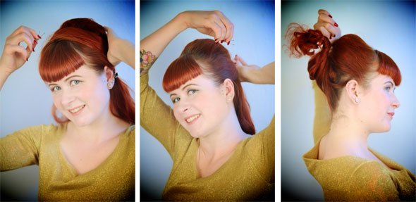 How To Create A 1960s Bouffant Lady Co Uk