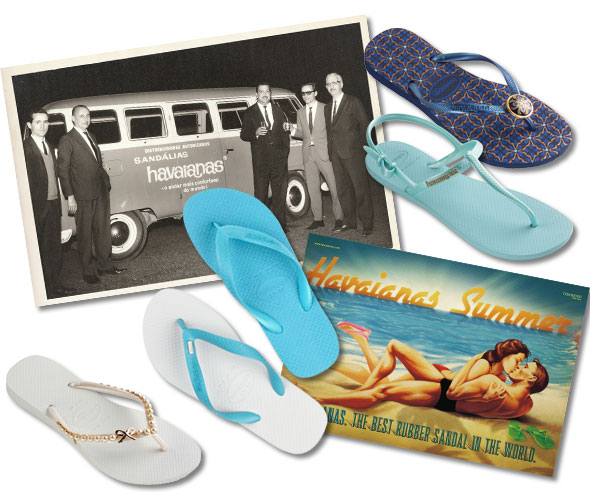 0c6ee9a1d40ccc Brazilian footwear brand Havaianas are celebrating 50th birthday this  month. Flip into classic beach flop mode from £14  www.havaianas-store.co.uk