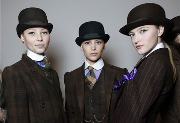 It\'s Downton chic   Lady.co.uk