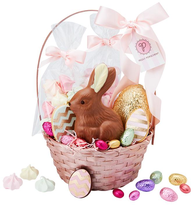 Easter egg extravagance lady easter egg extravagance easter bunny basket negle Choice Image