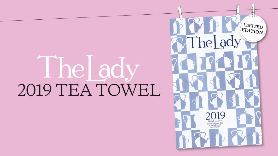 the lady 2019 tea towel lady co uk